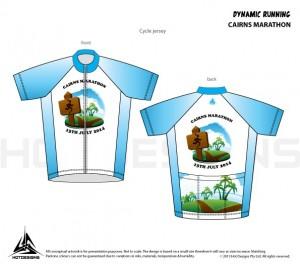 2014 Cairns Marathon shirt
