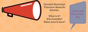 Volunteer reward scheme